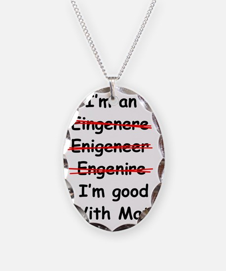 Im good with math Necklace