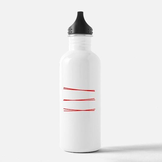 Im good with math Water Bottle