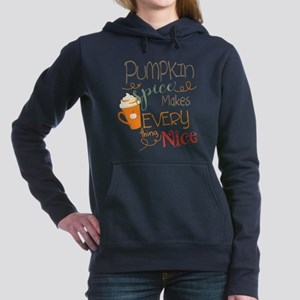 Pumpkin Spice Makes Ever Women's Hooded Sweatshirt