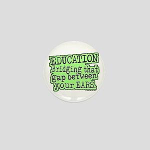 Education, Bridging That GAP Mini Button