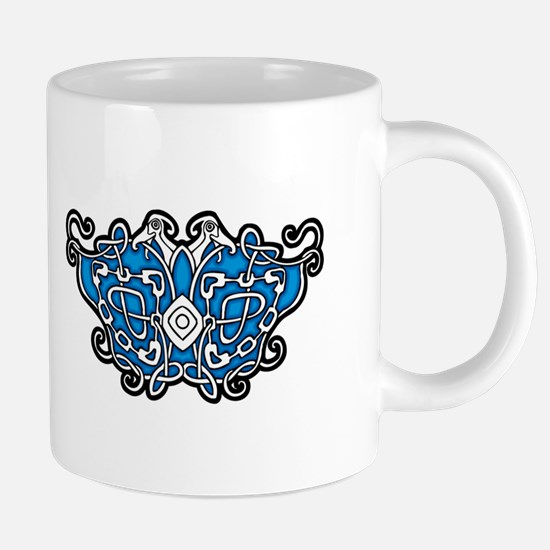 CELTIC24_BLUE Mugs