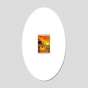 Cornucopia Cookery 20x12 Oval Wall Decal