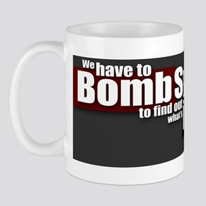 Bomb Syria Mug
