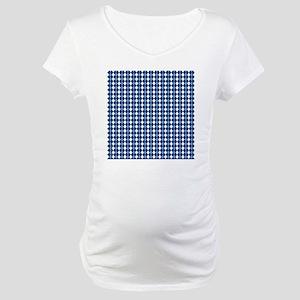 UNC Carolina Blue Basketball Arg Maternity T-Shirt