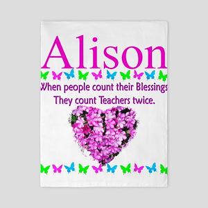 SPECIAL TEACHER Twin Duvet Cover