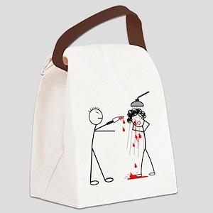 Psycho Scene Canvas Lunch Bag