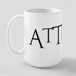 TUDE1BLK1 Large Mug