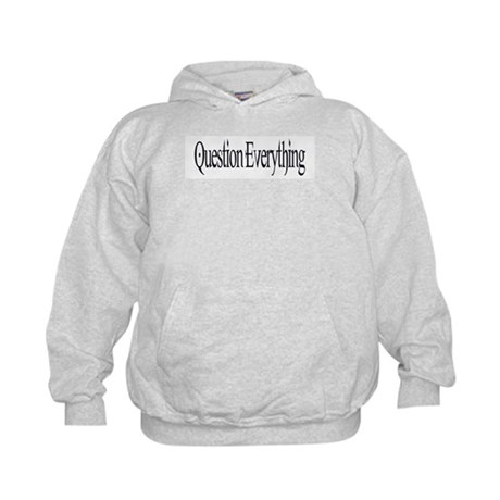 Question Everything Kids Hoodie