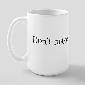 SPANK1_BLACK1 Large Mug