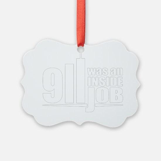 illuminati new world order 911 Ornament