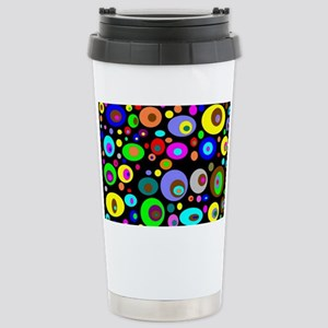 abstraction-with-bright Stainless Steel Travel Mug