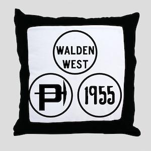 WW-pillars Throw Pillow