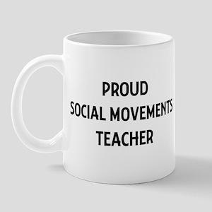SOCIAL MOVEMENTS teacher Mug
