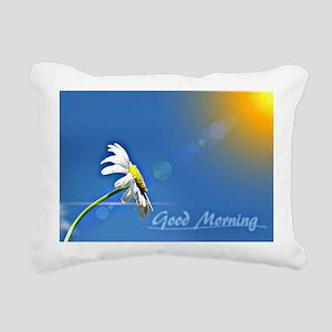 Beautiful morning - suns Rectangular Canvas Pillow