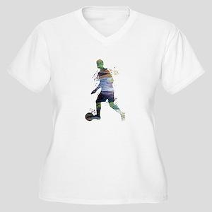 Football player Plus Size T-Shirt