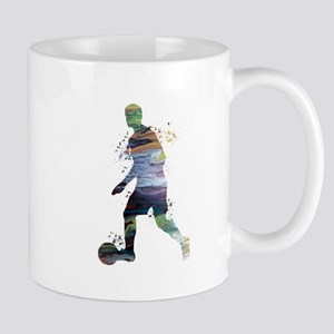 Football player Mugs