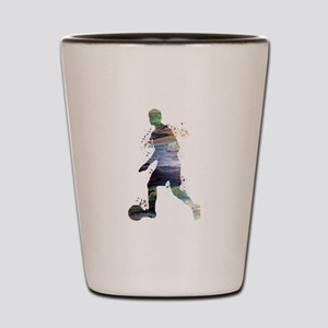 Football player Shot Glass