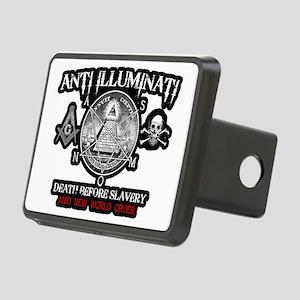 illuminati new world order Rectangular Hitch Cover