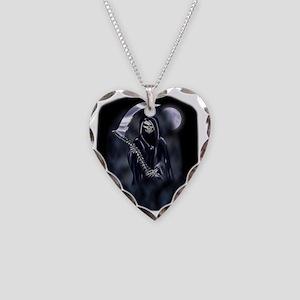 Grim Reaper (poc) Necklace Heart Charm