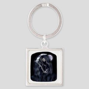 Grim Reaper (poc) Square Keychain