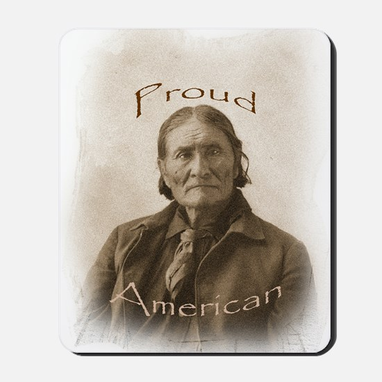 Geronimo, Proud American Mousepad