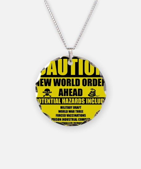 illuminati new world order 9 Necklace