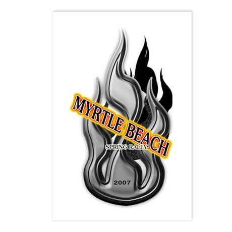 Myrtle Beach Motorcycle Rally Postcards (Package o