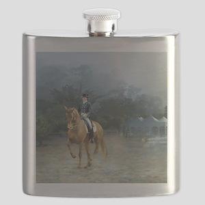 PB Piaffe Dressage Horse Flask