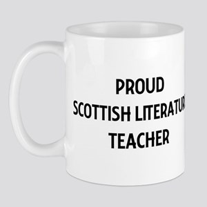 SCOTTISH LITERATURE teacher Mug