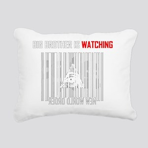 illuminati new world ord Rectangular Canvas Pillow
