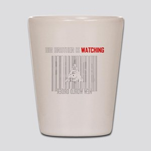 illuminati new world order 911 Shot Glass