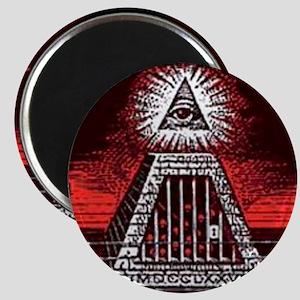 illuminati new world order 911 Magnet