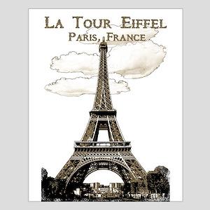 Eiffel Tower-Paris-France-1-Sepia Posters