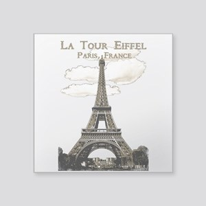 Eiffel Tower-Paris-France-1-Sepia Sticker