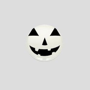 Jack-O-Lantern Maternity Tee Mini Button