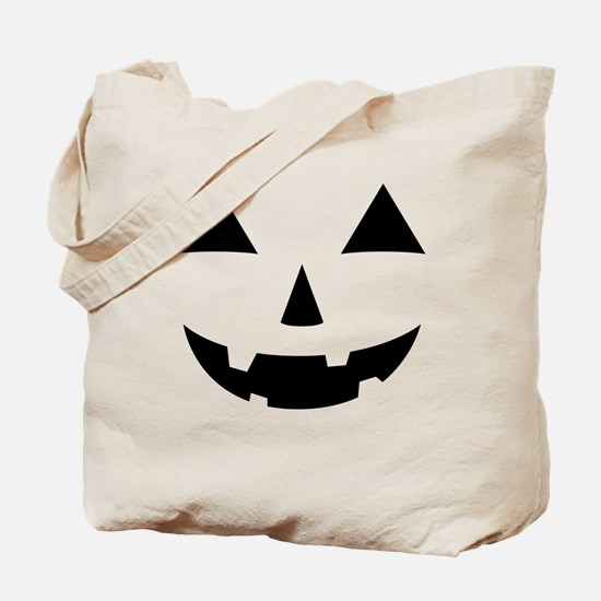 Jack-O-Lantern Maternity Tee Tote Bag