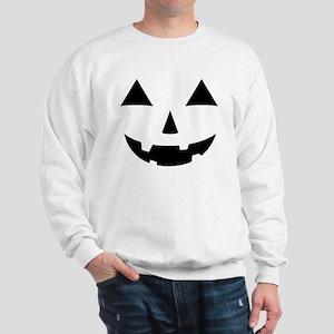 Jack-O-Lantern Maternity Tee Sweatshirt