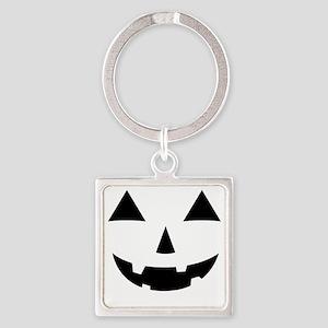 Jack-O-Lantern Maternity Tee Square Keychain