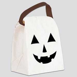 Jack-O-Lantern Maternity Tee Canvas Lunch Bag