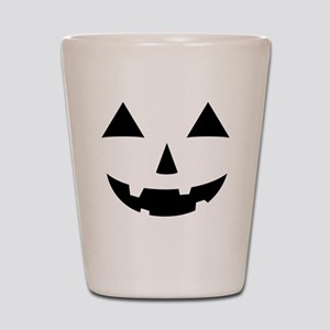 Jack-O-Lantern Maternity Tee Shot Glass