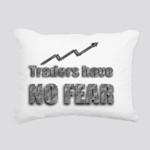 Traders have no fear Rectangular Canvas Pillow