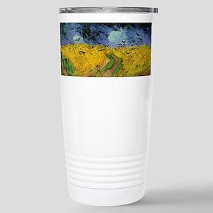 Van Gogh Wheat Field with Crows Travel Mug