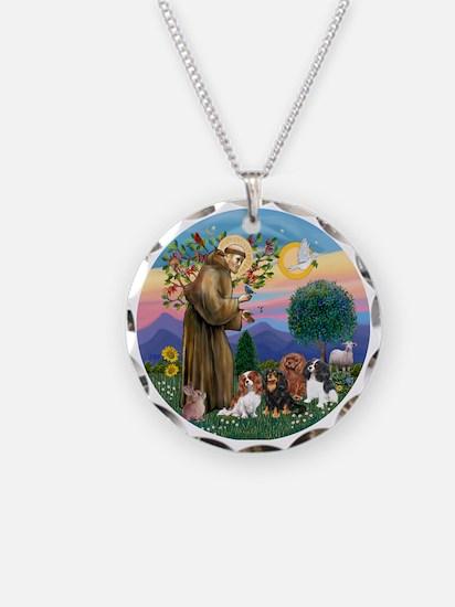 St Francis / 4 Cavaliers Necklace
