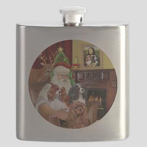 Santa-3Cavaliers Flask
