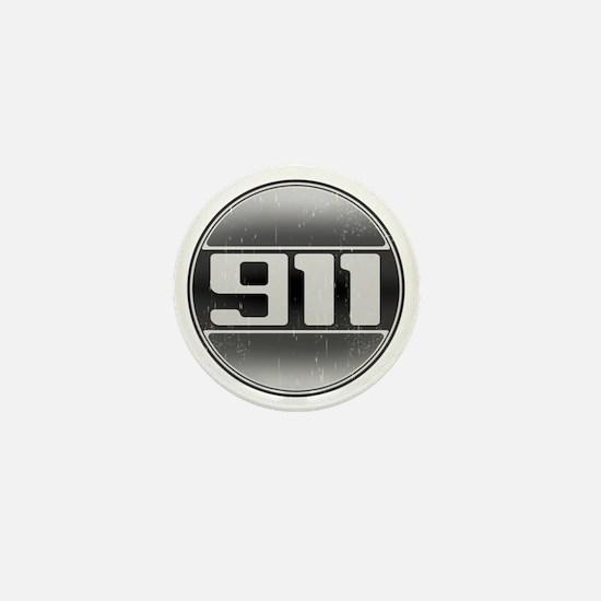 911 copy Mini Button