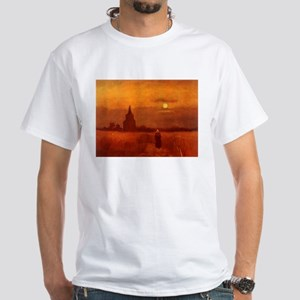 Van Gogh Old Tower T-Shirt