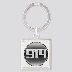 914 copy Square Keychain