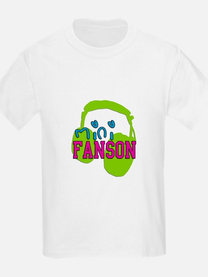 Mini Fanson Baby Bib T-Shirt