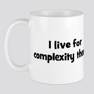 Live for complexity theory Mug