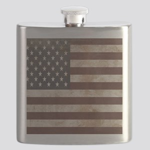 Vintage American Flag King Duvet 1 Flask